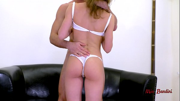 FIT COLLEGE GIRL GETS ROUGH THROAT FUCK WITH 69 CUMSHOT. MIA BANDINI