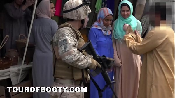 TOUR OF BOOTY - Operation Pussy Run with Soldiers In The Middle East! Thumb