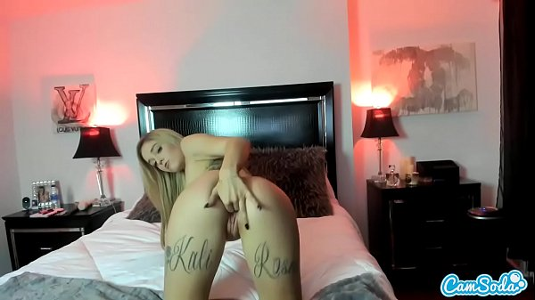 CamSoda - Kali Roses First Time on Cam Masturbation Anal Play