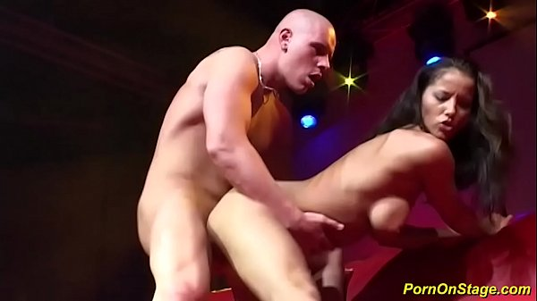 her first rough big cock sex in public