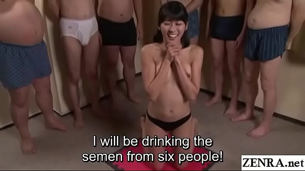 JAV cum drinking gokkun blowjob party Misaki Oishi Subtitled Thumb