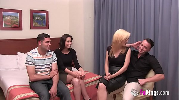 Their First Swinger Experience With Only 18Yo  thumbnail