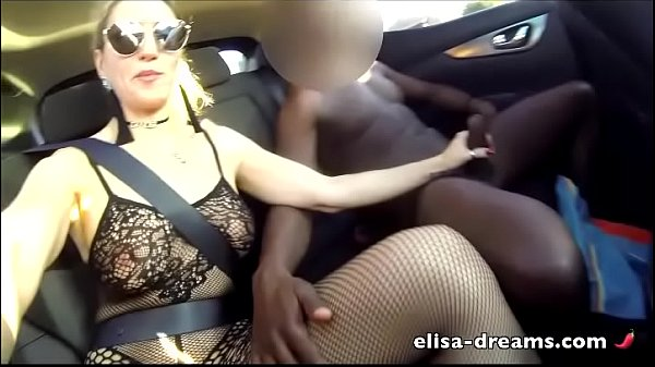 Sexy Cheating Wife gets Huge black Dick outdoors Thumb
