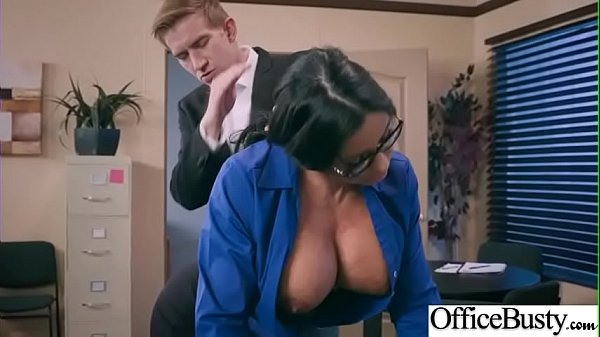 Hard Sex With Big Round Tits Nasty Office Girl (Simone Garza) video-30