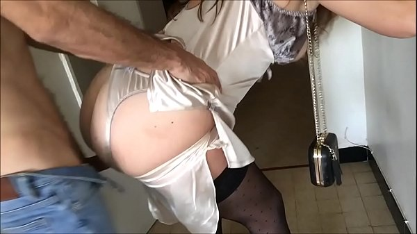 T&A 490 - Fucking Clothed Girl in Satin Lingerie