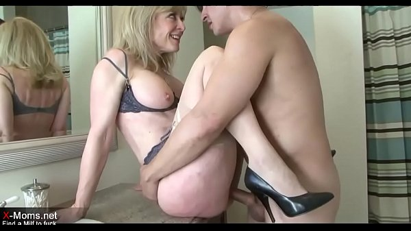 Chubby Old Blonde Mom Fucked By Son