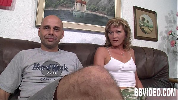 Small titted german milf take two cocks