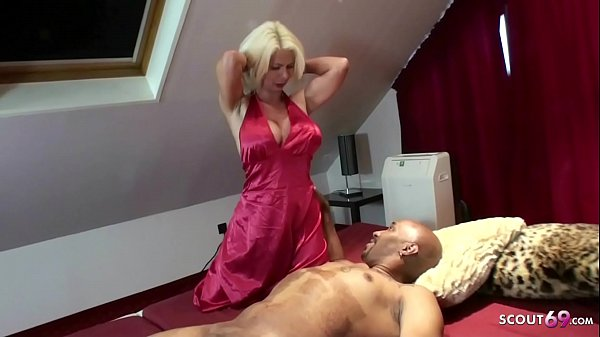 First Time Interracial Fuck for German MILF Nadja Summer
