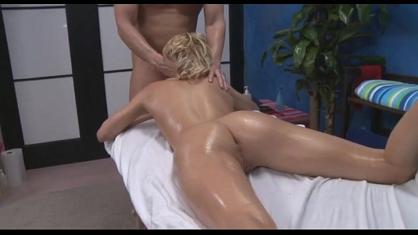 Sexy 18 year old fucked in massage