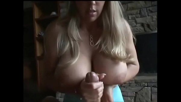 Wifey gives a slow handjob and milks your cock. Thumb