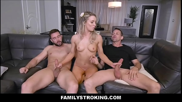 Blonde Teen Step Daughter Kate Kennedy Threesom...