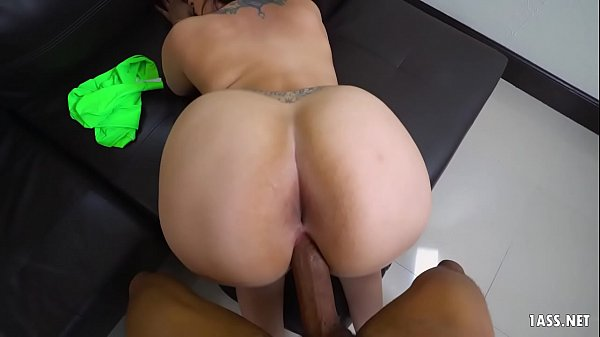 Phat ass chick banged by a BBC