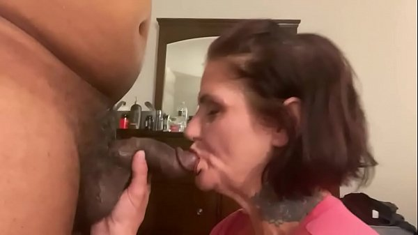 Blowjob ends with a huge fart