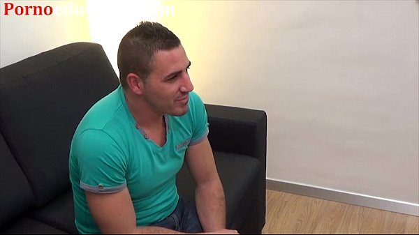 Young gay man casts to become a porn star