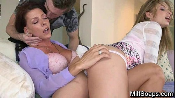 A Splinter gets this Threesome Going - MilfSoaps.com