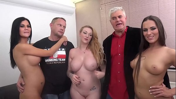 Jasmine Jae, Mea Melone and Harmony Reigns FUCK TWO FANS in Porno Dan's FUCK A FAN!