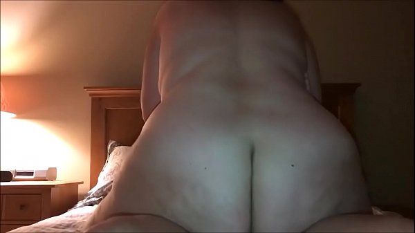 Horny Fat MILF Riding Her Lover