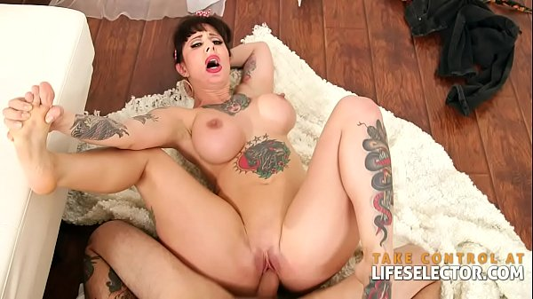 Pinup calendar models come to life to suck and fuck in POV