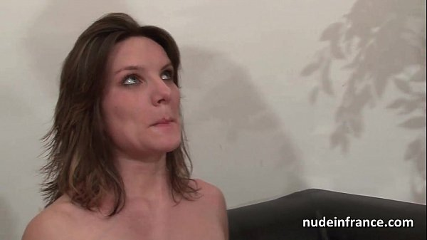 Casting couch of a pretty small titted french b...