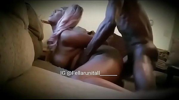 Ebony sister gives brother backshot