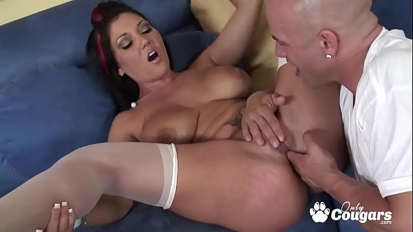 MILF Claire Dames Spreads Her Legs & Takes Some...