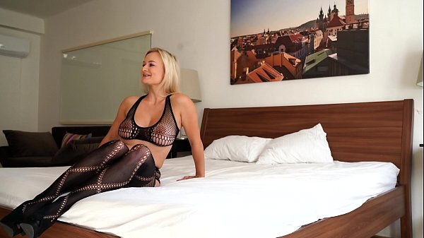 Perfect Blonde Czech Milf with Natural Boobs Lilly Joy