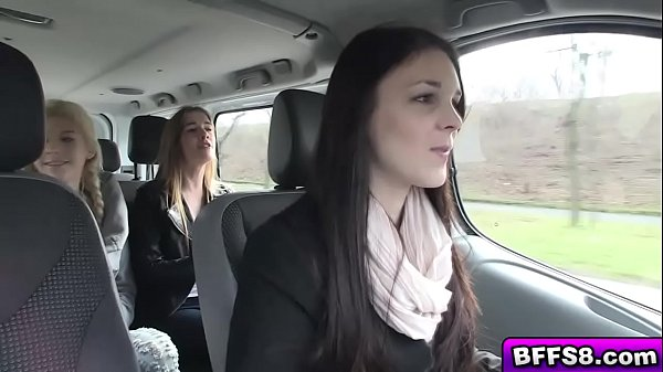 Sexy college teens enjoy hot fuck on a road trip Thumb