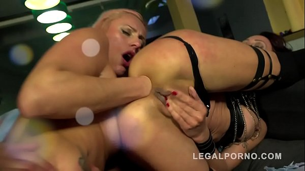 Brittany Bardot & Lyna Cypher 2on2 fountain squirt, prolapse madness with Asshol
