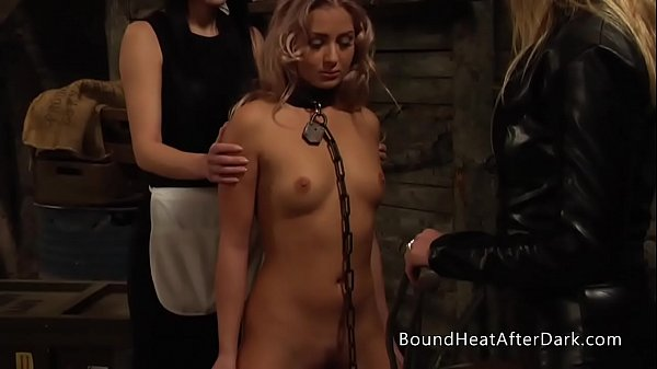 Pleasure and Pain: Enslaved Girl Furiously Whipped By Mistress Thumb