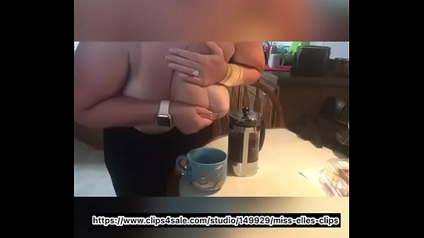 Mommy milks mammaries into morning coffee Thumb