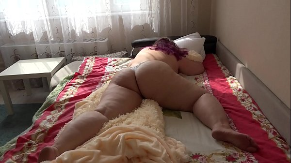 The usual morning of one beautiful bbw with a b...