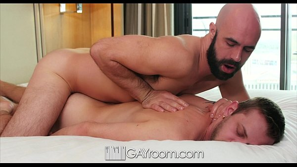 GayRoom - Pounded oiled ass with Chandler Scott and Lex Ryan