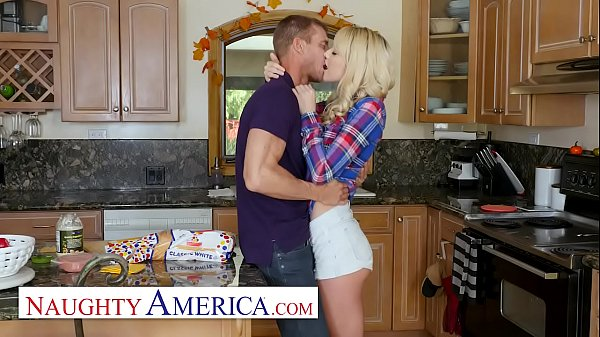 Naughty America - Older guys make Kenna James hot and horny