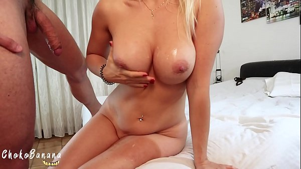 I let him cum on my boobs after a blowjob