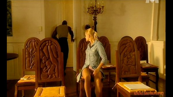 Hot Blonde Seduces The Instructor