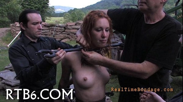 Lusty collaring for sweet playgirl Thumb