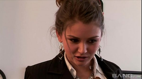 Secretaries Andy San Dimas And Allie Haze In Threesome