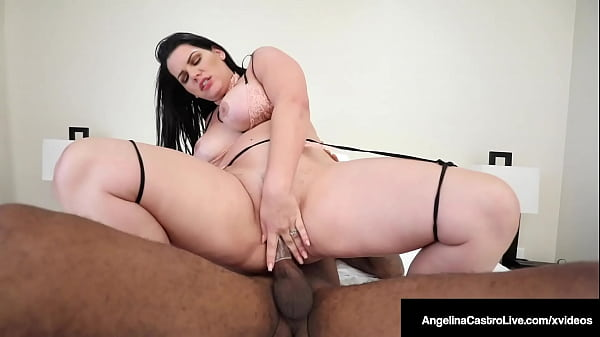 Dick Hungry BBW Angelina Castro Rides Big Fat C...