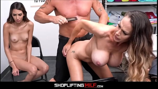 Shoplifting Big Tits Blonde MILF Step Mom Mckenzie Lee And Hot Skinny Teen Step Daughter Natalia Nix Fucked By Officer