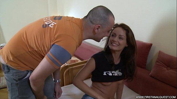 FirstAnalQuest.com - SEXY ANAL WITH GORGEOUS HUNGARIAN GIRL AND HER SKINNY BODY Thumb