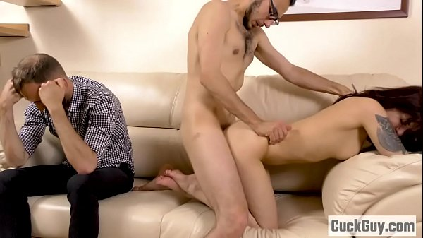 Wife Gets Fucked In Front Of Her Hubby