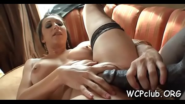 Stare at very sex appeal hottie getting fucked hard on camera