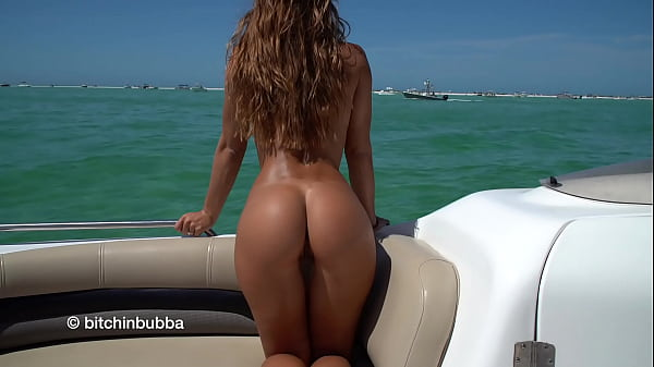 Naked on her boat Thumb