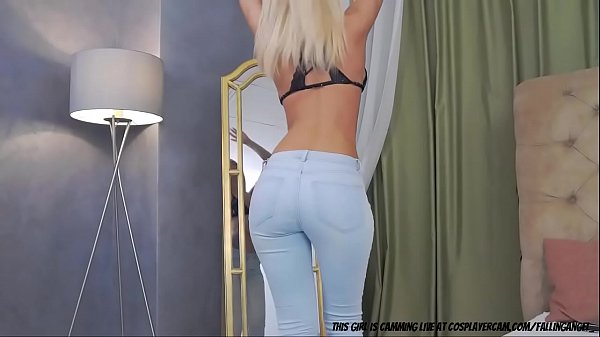 Blonde Bimbo Whore Getting You Hard...