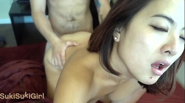 Asian Goddess THROATFUCK and passionate sex wit...
