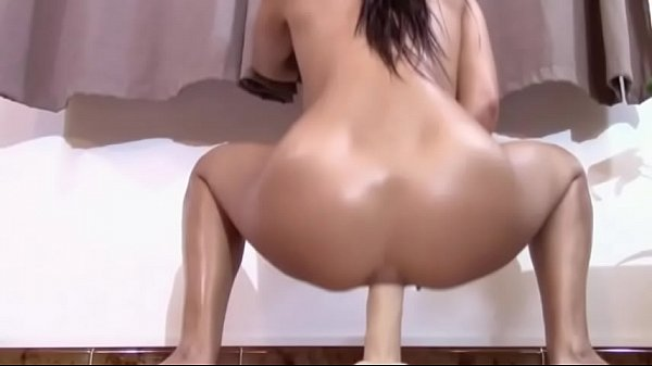 Nerd college girl rides a huge dick and fucks her ass too  thumbnail