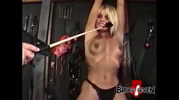 BRUCESEVENFILMS - Stunner Tyna Lynn chained and tormented Thumb