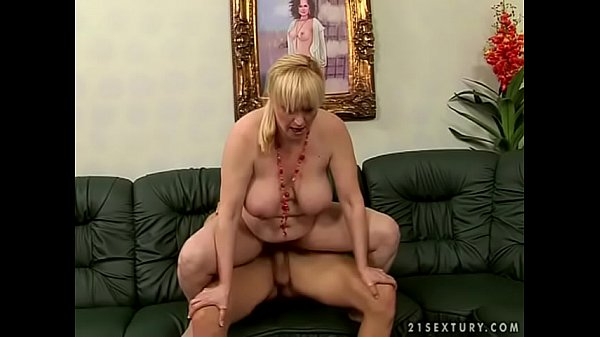Big titted hairy old maid