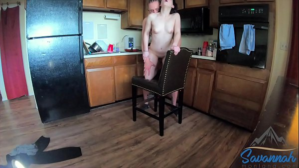 h. girl fucked in the kitchen before school