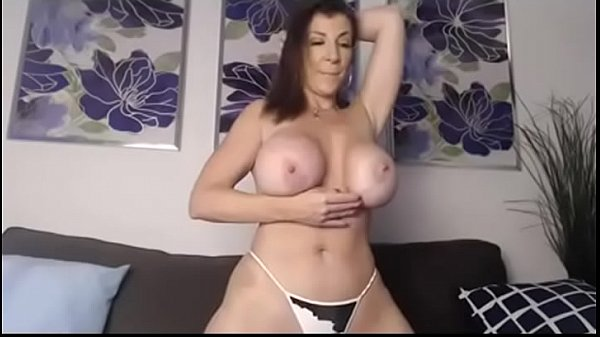 Huge tits Milf on Cam - Part 1    More videos like this at MaturesandMilfs.com